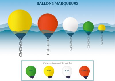 Créez votre ballon marqueur avec Nordak Marine