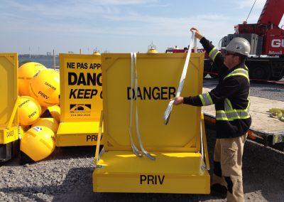 Port_signalisation_panneau_Produits_panneaux_information_chantier_eau