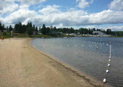 Sécurisation de la place lac des iles