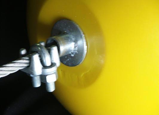 estacade boom et flotteur jaune 040612